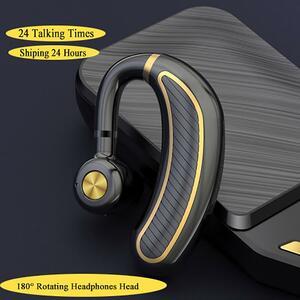 【★★新品★★】BluetoothイヤホンV4.1 ワイヤレスイヤホンヘッドフォンミニハンズフリーヘッドセット 24Hrsと話マイクiphone xiaomi