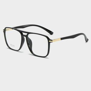 【★★新品★★】Logorela 透明メガネフレーム男性女性偽ヴィンテージ光学近視眼鏡フレームレディースレトロ眼鏡 8120