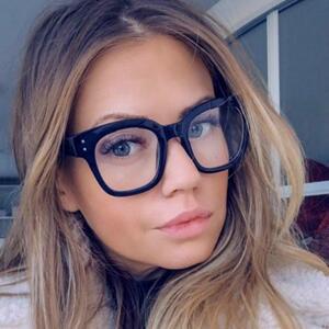 【★★新品★★】抗ブルービッグフレームメガネ女性コンピュータブルー遮光メガネ黒放射線ゴーグル眼鏡眼鏡男性