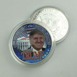 【★★新品★★】ドナルドトランプ 45th 米国記念コイン アメリカグレート 2020