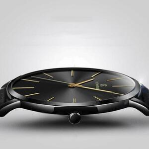 【★★新品★★】レロジオmasculinoメンズウォッチトップブランドの高級超薄型腕時計 erkek kol saatiリロイhombre