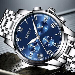 【★★新品★★】レロジオ masculino 2020 メンズウォッチファッション発光スポーツ腕時計 リロイ hombre