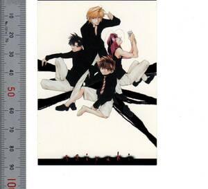 「No.27 イラストコレクションシリーズ03 ステッカー 三蔵 悟空 悟浄 八戒~幻想魔伝最遊記」【シール・ステッカー】 熊五郎のトレカ 1559