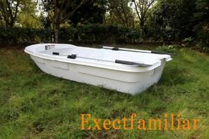 EX250IKESU フジテレビ出演`純烈丸`レプリカ生簀仕様 到着したらすぐに漕ぎ出せる2分割FRPボートSET