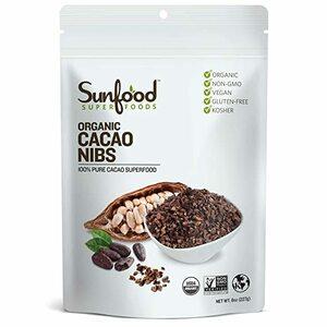 <送料込> サンフード sunfood オーガニックカカオニブ227g 有機 USDA Organic