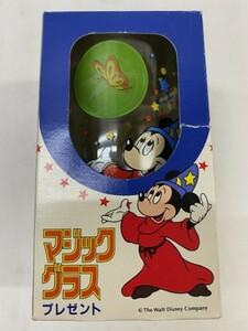 【AI雑貨-41】★ファンタ 〈ディズニー マジックグラス〉★ミッキー、ミニー★中古品★[KT]