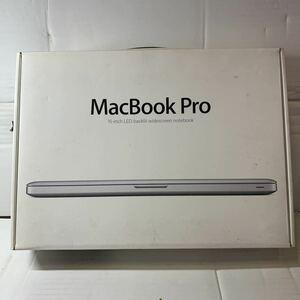 箱のみ!本体無し!写真の物が全てです!Apple MacBook Pro B121-2010