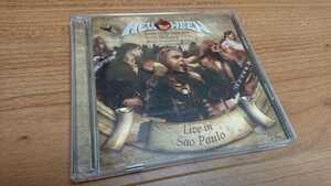 Helloween / ハロウィン Keeper of the Seven Keys -Legacy- World Tour 2005/2006 Live in Sao Paulo 国内盤 帯なし