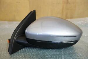0068 T9 Peugeot 308 original left door mirror aru chest gray 10 pin