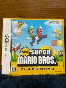 ニンテンドーDS Newスーパーマリオブラザーズ 任天堂 DSソフト
