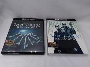 Blu-ray マトリックス リローデッド 日本語吹替音声追加収録版(4K ULTRA HD+デジタル・リマスター ブルーレイ)(Blu-ray Disc)