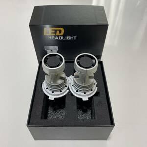 2020 newest H4 LEDpon attaching head light H4 Hi/Lo vehicle inspection correspondence H4 12V 24V H4 LED valve(bulb) tip fan