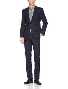 【新品】定価6万 コナカ KONAKA JOHN PEARSE SELECTLINE シャワークリーン メンズスーツ 背抜き ネイビー(紺無地) Y5(S~M相当) [送料無料]