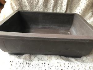 植木鉢 鉢 盆栽 盆栽鉢 ガーデニング 浅型 陶器 長方形 フラワーポット 55