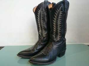 【20111508Dm】Tony Lama ウエスタンブーツ BK/Ladys 24.5cm EE