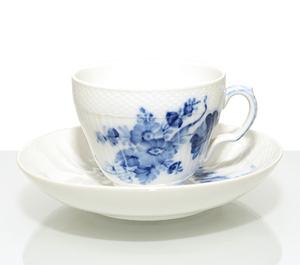 ROYAL COPENHAGEN ロイヤルコペンハーゲン ブルーフラワー カーブ コーヒーカップ &ソーサー 1549
