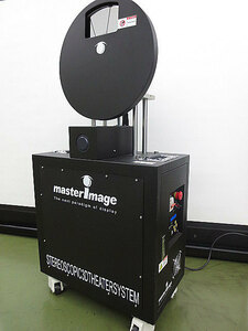岐阜発 特殊映像機器 映画 3D映写機 マスターイメージ社 master image MI-2100R  ■NO2 ヤマトBOXチャーター便