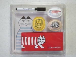LISA LARSON ☆ リサ ラーソン コラボ 限定 未開封 付録 非売品 マイキー と仲間たちの マグネット 6点 セット ミンミ イギー