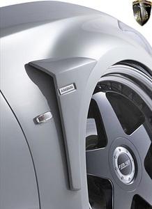 【M's】ニッサン Y51 フーガ 前期 (2009y-2014y) AIMGAIN 純VIP GT フロントフェンダーパネル 左右 // FRP 未塗装 エイムゲイン エアロ