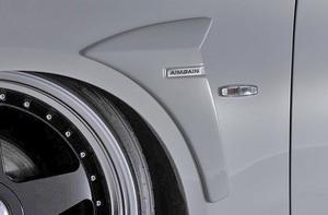 【M's】NISSAN Y51 フーガ 前期 (2009y-2014y) AIMGAIN 純VIP GT フロントフェンダーパネル // FRP 未塗装 エイムゲイン エアロパーツ