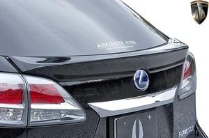 【M's】レクサス 10 RX 後期 RX450h RX350 RX270 (2012.4-2015.10) AIMGAIN 純VIP GT リアゲートスポイラー // FRP エイムゲイン エアロ