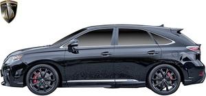 【M's】 レクサス 10 RX 後期 RX450h RX350 RX270 (2012.4-2015.10) AIMGAIN 純VIP GT サイドステップ 左右 // FRP エイムゲイン エアロ