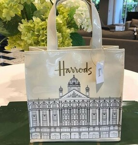 HAL ハロッズ Harrods ★ ハロッズ ビルディング トートバッグ ★ Sサイズ ★ 即決 新品未使用