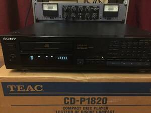 SONY CD- PLAYER CDP - 997 CD D/A