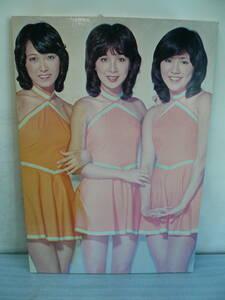 ●キャンディーズ パネルポスター ラン・スー・ミキ 約57×40cm #昭和レトロ#当時物