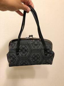 がま口バック 小ぶりバッグ 和装バッグ お財布ポーチ