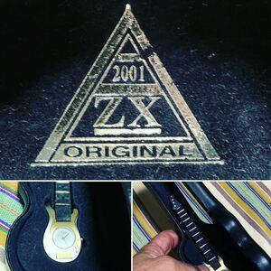 【ボロ特価(笑)】エレキギター時計 ZX ORIGINAL 2001 ギター型 ウォッチ 時計 腕時計 完全なるジャンク品