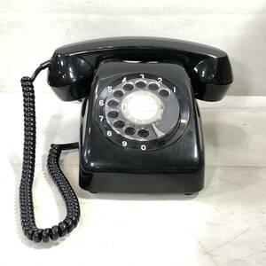 【現状品】★黒電話★601-A2★昭和レトロ★電話機★ダイヤル式★日本電話★