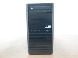 中古/Diginnos/自作ゲーミングデスクトップPC/Windows10/WPSOffice/爆速新品SSD256GB+1TB/8GB/GT635/6世代i5/新品無線KB&マウス