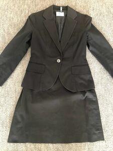 スーツカンパニー スカートスーツ 7〜8分丈