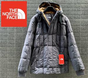 ◆モデル出品◆新品 Lサイズ ザ・ノースフェイス パーカー付グースダウンバジャジャケット550フィル プルオーバー 黒 The North Face