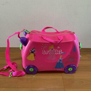 trunki トランキー 子供用スーツケース ピンク 旅行 乗れるスーツケース
