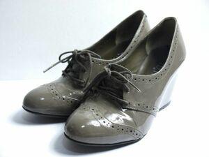 ダイアナ DIANA パテント エナメル 靴 22.5cm O241-72