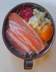 うまそう! ブタ玉 関西風 お好み焼き 実寸 リアル食品サンプル 昭和レトロ 早期終了あり!