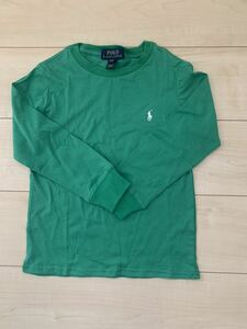 送料込み 新品大人気商品 ラルフローレン とっても優しい生地のシャツ グリーン 2T