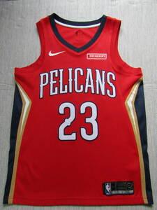 NBA DAVIS アンソニー・デイビス NIKE製 ニューオーリンズ・ペリカンズ ナイキ スウィングマン ユニフォーム ジャージ ゲームシャツ