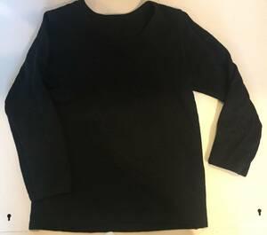 ★美品★真っ黒★アンダーシャツ★綿100★西松屋★長袖肌着★見えてもOK★