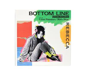 REBECCA / レベッカ BOTTOM LINE ボトムライン (LP) レコード 中古品