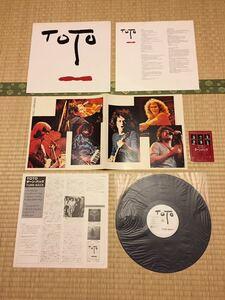 国内盤 TOTO Turn Back トト/ターン・バック GOODBYE ELENORE Steve Lukather Steve Porcaro Bobby Kimball David Paich Jeff Porcaro