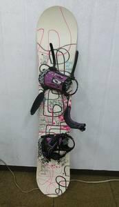 中古 HEAD ヘッド スノーボード FOUNTAIN ファウンテン ビンディングセット [211-1121] ◆送料無料(北海道・沖縄・離島は除く)◆A