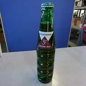 【未開栓品】レトロ ウィルキンソン ジンジャエール 瓶 190ml アサヒ飲料 炭酸飲料 ソフトドリンク インテリア