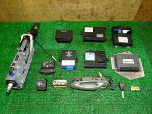 K15-213 D H17 Porsche 987 Boxster engine control unit ECU keyless key key cylinder steering shaft SALE
