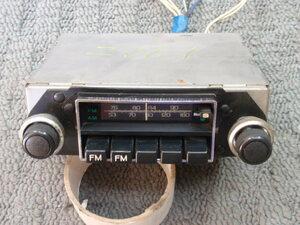 ニッサン 日産 純正 AM FM チューナー CR-2725・N ブルーバード バイオレット スカイライン ローレル サニー ダットサン 当時物 旧車