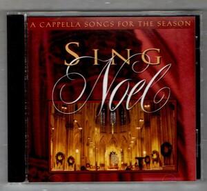 ∇ 輸入盤 クリスマス CD/SING NOEL A CAPPELLA SONGS FOR THE SEASON/WORD MUSIC Tom Fettke BEVERLY DARNALL