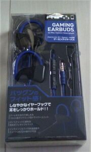 PS4/Switch/スマートフォン用 ゲーミングイヤーバズ ブルー (ヘッドセット)