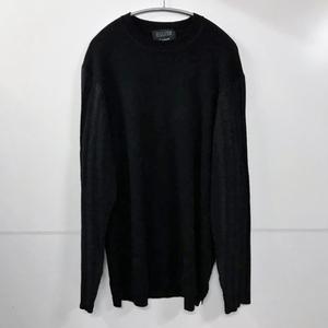 REGULATION Yohji Yamamoto MEN レギュレーションヨウジヤマモトメン 10G Plating Wrinkle processing Pullover knit ニット 3 表参道T11